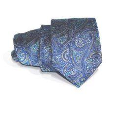 Corbata azul cachemire