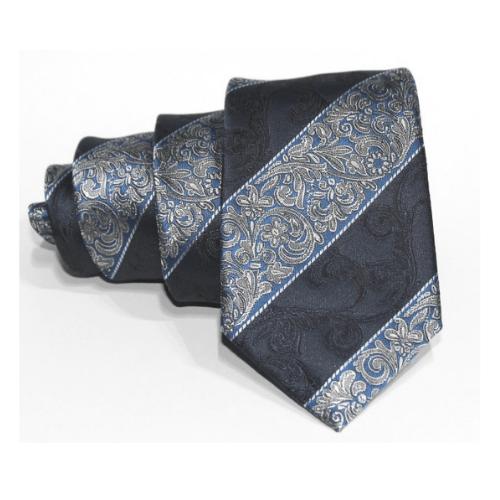 corbata azul brocado eduardo bosch