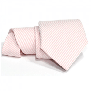 corbata rosa rayas