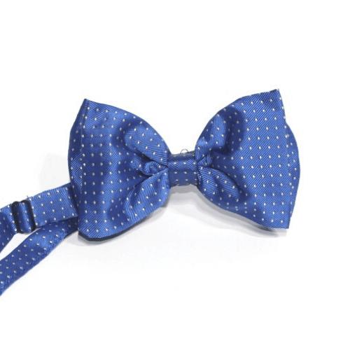 Pajarita azul añil