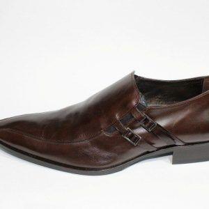 Zapatos marrón satinil