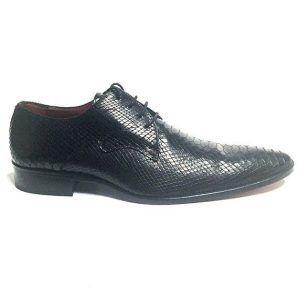 zapatos negro serpiente