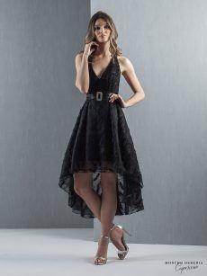 vestido graduacion negro