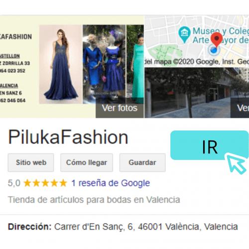 dejar reseña google pilukafashion valencia