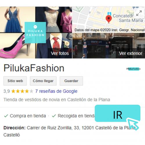 reseña google pilukafashion castellon