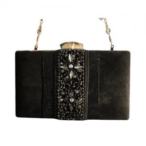 bolso negro piedras 1