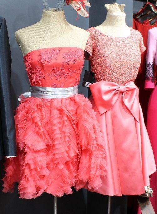 vestidos de fiesta cortos coral pilukafashion 1
