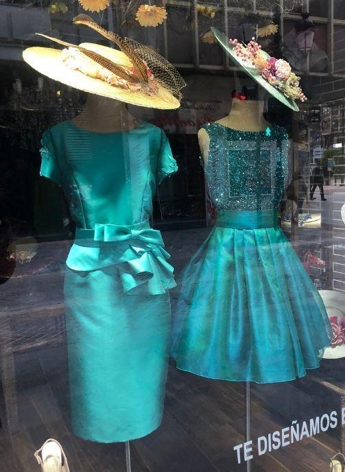 vestidos de fiesta verde oscuro pilukafashion 3